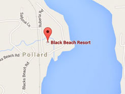 Directions to Black Beach Resort